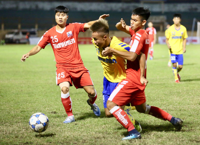 U21 Viettel vất vả thắng Đồng Tháp, vào chung kết Giải U21 quốc gia - Ảnh 1.