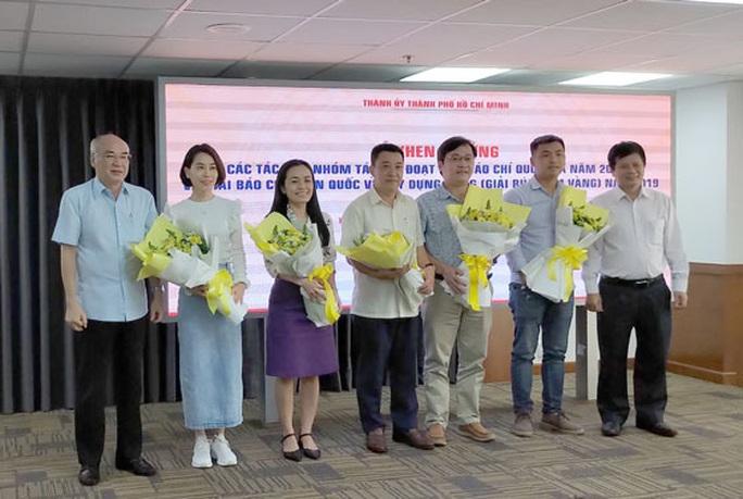 TP HCM khen thưởng các cá nhân, tập thể đoạt giải Báo chí quốc gia - Ảnh 1.