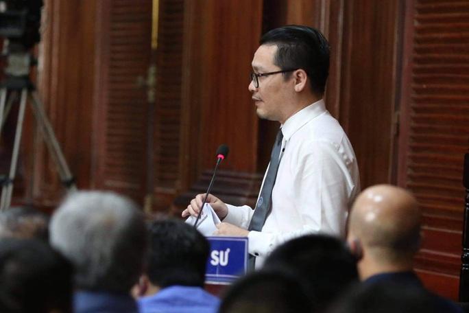 Cơ quan công tố yêu cầu bị cáo Đinh La Thăng điều chỉnh lời nói, thái độ - Ảnh 1.
