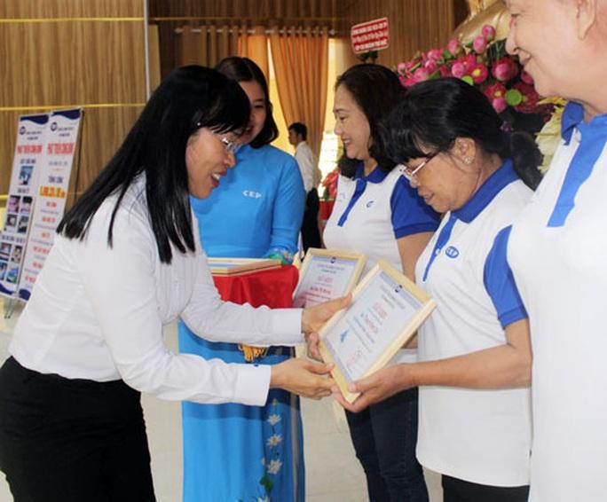 CHI NHÁNH CEP QUẬN THỦ ĐỨC, TP HCM: Hỗ trợ vốn gần 168.000 công nhân - Ảnh 1.