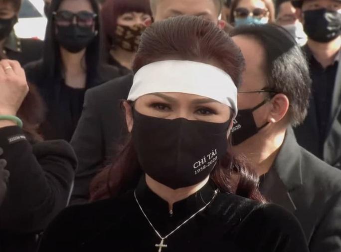 Xúc động tang lễ nghệ sĩ Chí Tài tại Mỹ - Ảnh 1.