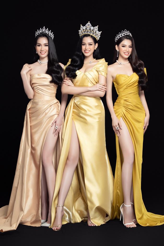 Hoa hậu Việt Nam Đỗ Thị Hà và hai á hậu lột xác sau 1 tháng đăng quang - Ảnh 12.