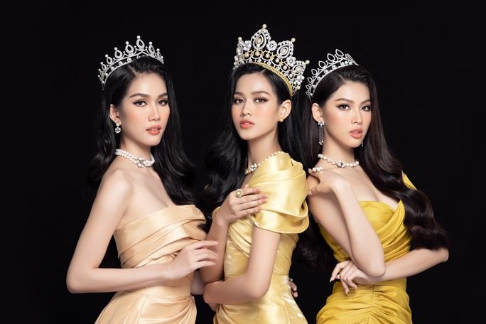 Hoa hậu Việt Nam Đỗ Thị Hà và hai á hậu lột xác sau 1 tháng đăng quang - Ảnh 11.