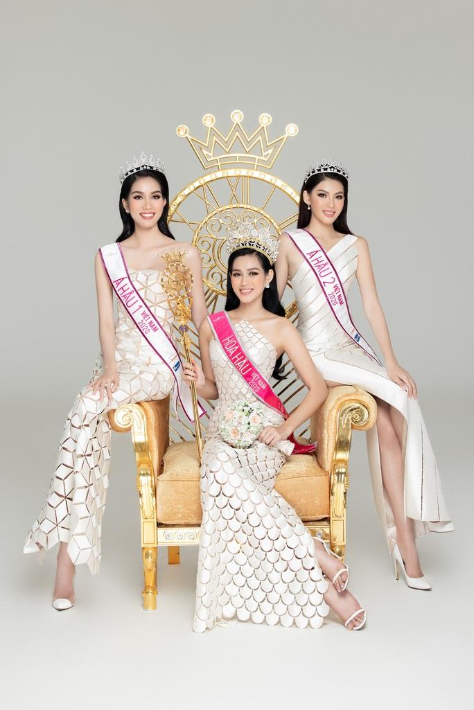 Hoa hậu Việt Nam Đỗ Thị Hà và hai á hậu lột xác sau 1 tháng đăng quang - Ảnh 10.