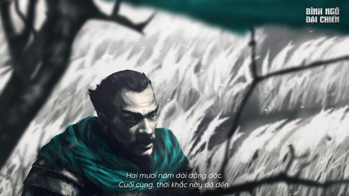 Ra mắt Bình Ngô đại chiến theo phong cách diễn họa - Ảnh 1.
