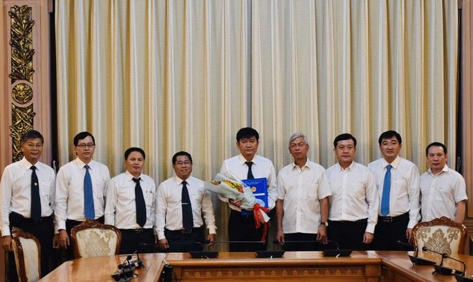 Sau gần 3 năm, Tổng Công ty Cấp nước Sài Gòn đã có tổng giám đốc - Ảnh 2.