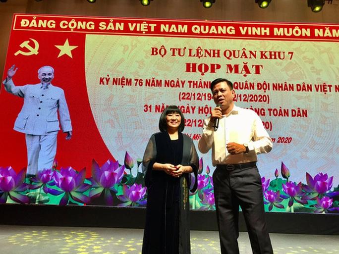 Nghệ sĩ hát mừng ngày thành lập Quân đội nhân dân Việt Nam - Ảnh 4.