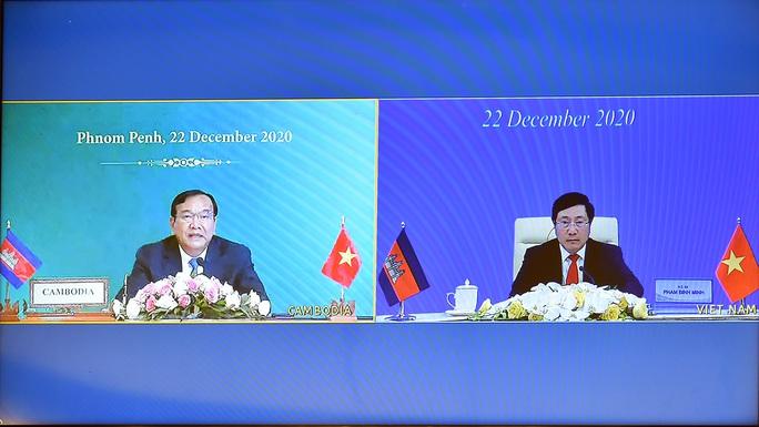 Hai văn kiện về biên giới Việt Nam - Campuchia chính thức có hiệu lực - Ảnh 5.
