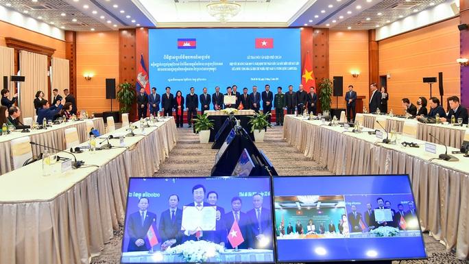 Hai văn kiện về biên giới Việt Nam - Campuchia chính thức có hiệu lực - Ảnh 3.