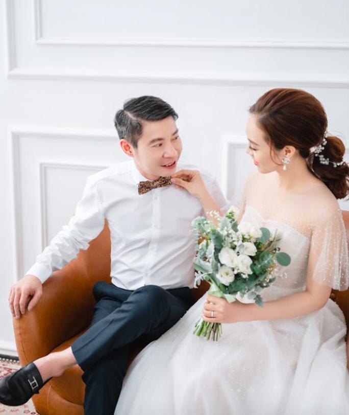 Cô Đẩu Công Lý hài hước trong bộ ảnh cưới trước lễ cưới lần 3 - Ảnh 4.