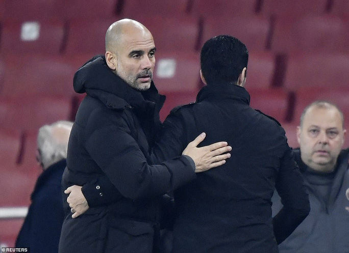 Đè bẹp chủ nhà Arsenal, Man City giành vé bán kết League Cup - Ảnh 7.