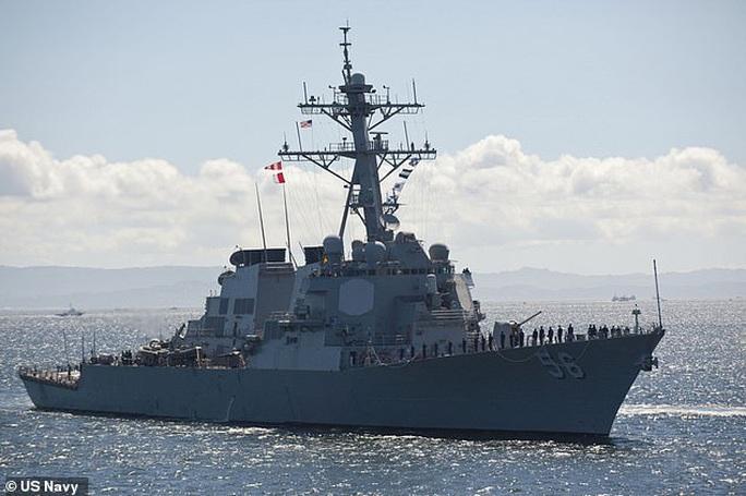 Mỹ - Trung đấu khẩu sau khi tàu chiến Mỹ áp sát quần đảo Trường Sa - Ảnh 3.