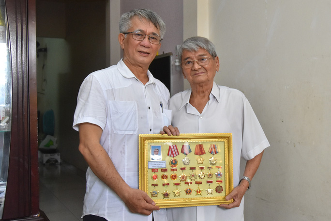 Mai Vàng nhân ái thăm hai NSƯT Tạ Hiền Minh và Bùi Xuân Hanh - Ảnh 2.