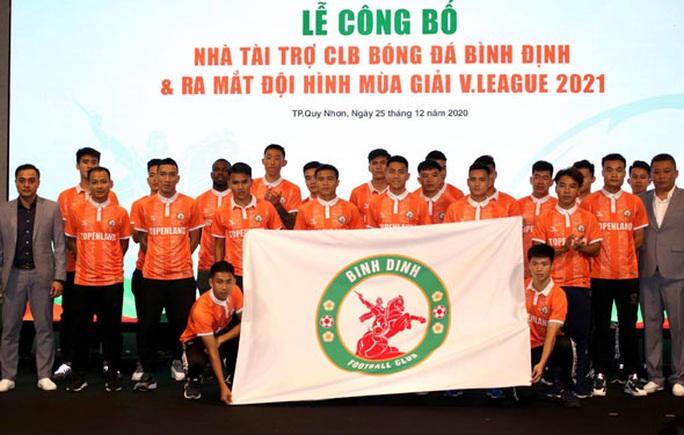 Bình Định đặt mục tiêu top 3 bóng đá đỉnh cao Việt Nam - Ảnh 1.
