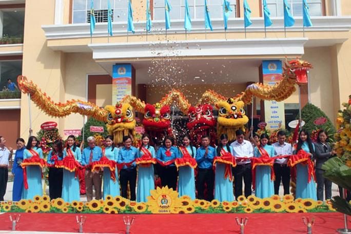Khánh thành Nhà Văn hóa Lao động quận 2 - Ảnh 1.