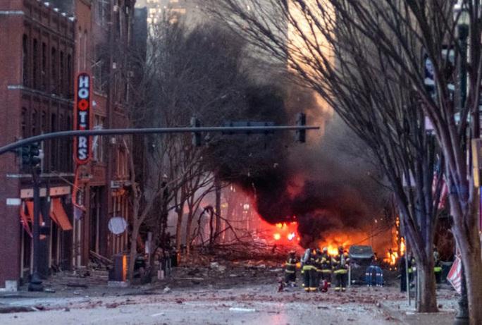 Mỹ: Phát hiện đáng ngờ trong vụ nổ ở TP Nashville - Ảnh 1.