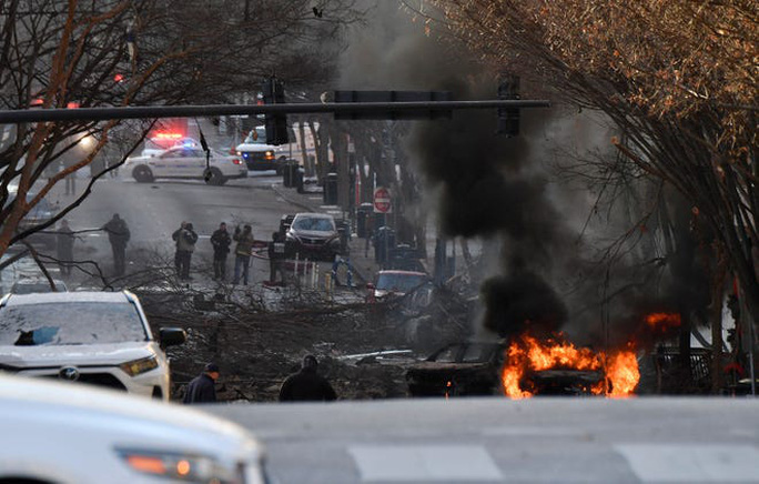 Mỹ: Phát hiện đáng ngờ trong vụ nổ ở TP Nashville - Ảnh 3.