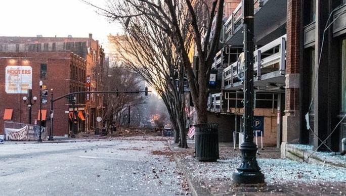 Mỹ: Phát hiện đáng ngờ trong vụ nổ ở TP Nashville - Ảnh 6.