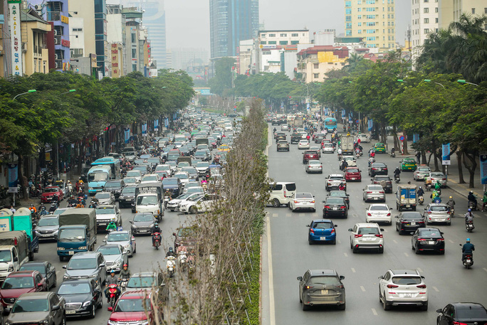 """CLIP: Cận cảnh hàng cây phong lá đỏ chết khô trên con đường """"đẹp nhất Việt Nam"""" - Ảnh 3."""
