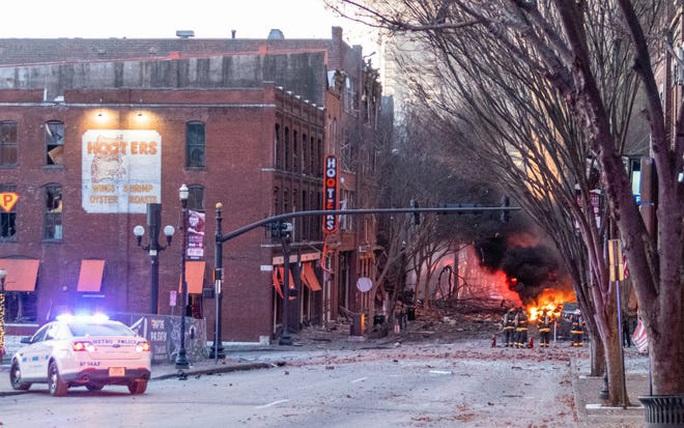 Mỹ: Phát hiện đáng ngờ trong vụ nổ ở TP Nashville - Ảnh 2.
