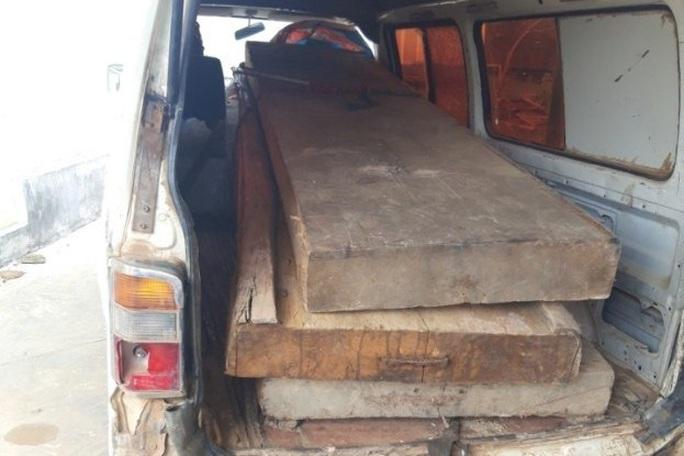 Khởi tố, bắt tạm giam nguyên chủ tịch xã bắt gỗ lậu về… biếu cán bộ - Ảnh 3.