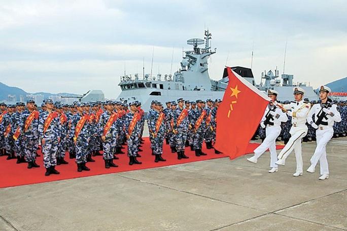 """Mỹ """"níu chân"""" Trung Quốc ở biển Đông 110 ngày - Ảnh 1."""