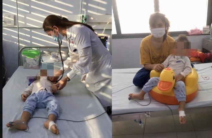 Bé gái 19 tháng tuổi liệt chi  vì bệnh tay chân miệng - Ảnh 2.