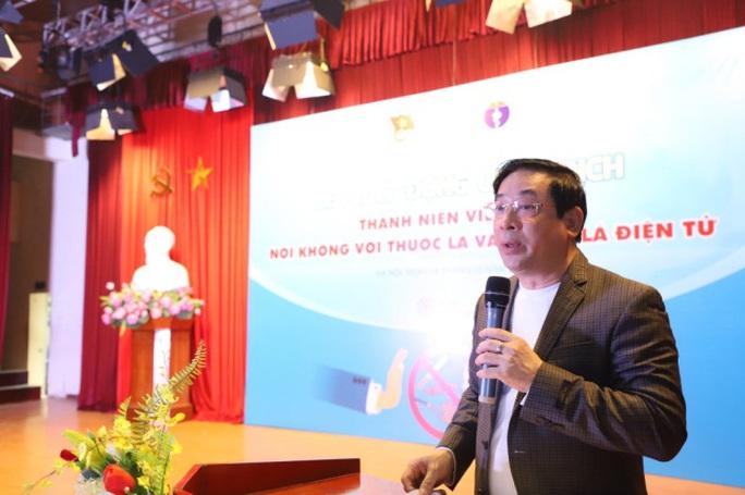 Thanh niên Việt nói không với thuốc lá và thuốc lá điện tử - Ảnh 1.