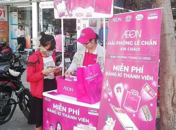 AEON Việt Nam khuyến khích khách hàng dùng túi riêng khi mua sắm - Ảnh 2.