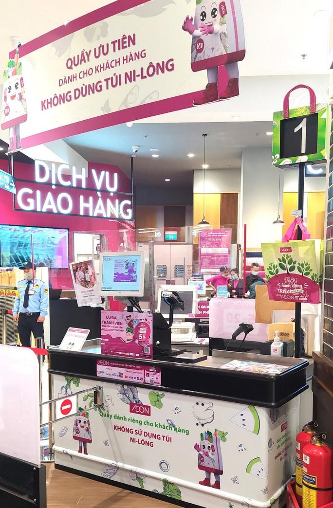AEON Việt Nam khuyến khích khách hàng dùng túi riêng khi mua sắm - Ảnh 3.