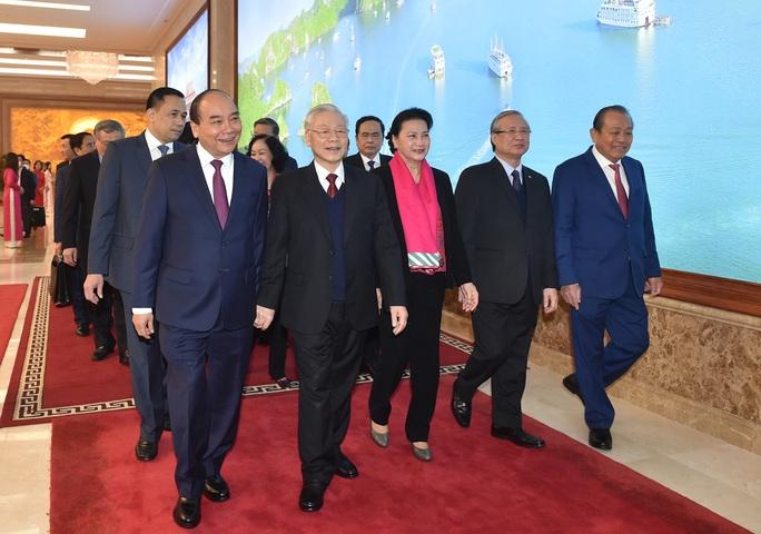 Tổng Bí thư, Chủ tịch nước Nguyễn Phú Trọng dự hội nghị Chính phủ với các địa phương - Ảnh 1.