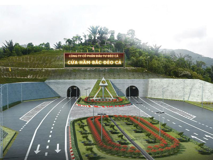 Đề nghị bố trí 1.180 tỉ đồng hỗ trợ dự án hầm đường bộ qua Đèo Cả - Ảnh 1.