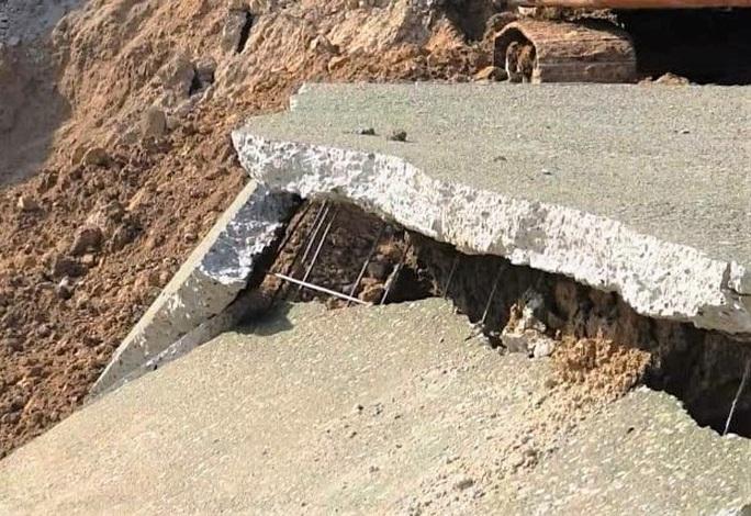 Bộ NN-PTNT vào cuộc tuyến kênh 4.300 tỉ đồng bất ngờ đứt gãy 50 m giữa mùa khô - Ảnh 5.