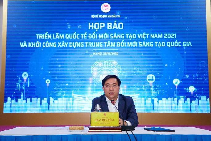 750 tỉ đồng vốn ngoài ngân sách xây dựng trung tâm đổi mới sáng tạo ở Hà Nội - Ảnh 1.