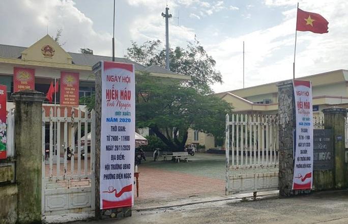Bắt một cán bộ địa chính ở Quảng Nam - Ảnh 1.