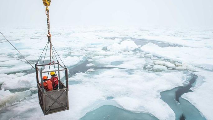 Phát hiện 12 sinh vật chưa từng thấy trên Trái Đất ẩn nấp dưới biển băng - Ảnh 1.
