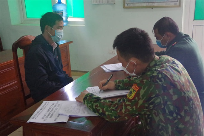 Bắt 4 người Trung Quốc nhập cảnh trái phép - Ảnh 1.