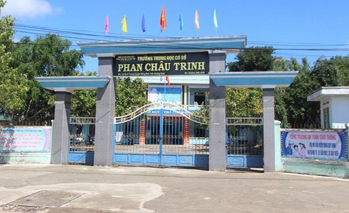 Hiệu trưởng ở Quảng Nam đột tử tại trường học - Ảnh 1.