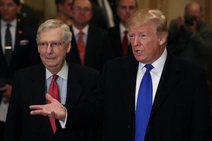 """Lãnh đạo Cộng hòa tại Thượng viện """"kình"""" ông Trump những ngày cuối cùng - Ảnh 1."""