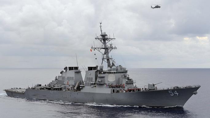 Mỹ lại khiêu khích Trung Quốc ở eo biển Đài Loan - Ảnh 1.