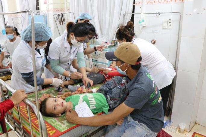 Sở Y tế Gia Lai thông tin vụ ăn xôi từ thiện, nhập viện tập thể - Ảnh 1.