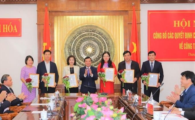 Thanh Hóa điều động, bổ nhiệm 11 lãnh đạo thuộc Ban thường vụ Tỉnh ủy quản lý - Ảnh 1.