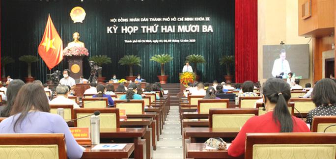 Kỳ họp HĐND TP HCM cuối năm bàn nhiều vấn đề quan trọng - Ảnh 2.