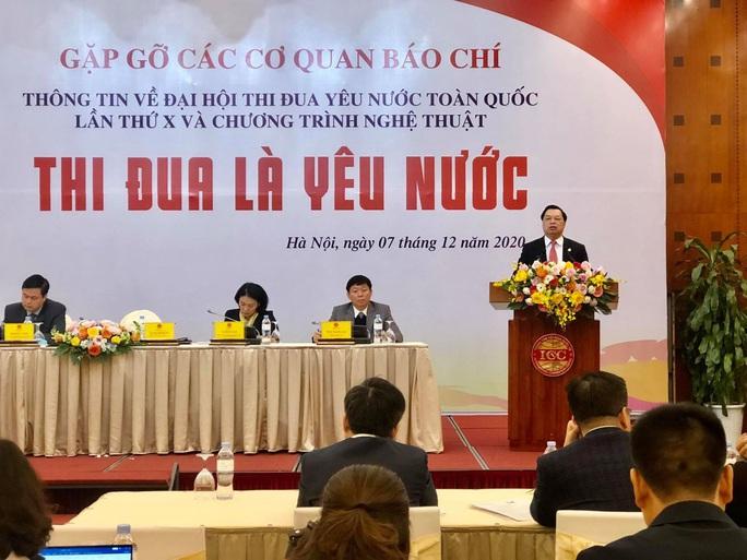 2.300 đại biểu dự Đại hội Thi đua yêu nước toàn quốc lần thứ X - Ảnh 1.