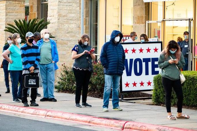 """Bầu cử Mỹ: Texas kiện một loạt bang chiến trường """"vi hiến"""" - Ảnh 1."""