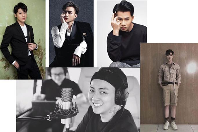Bầu chọn Mai Vàng 2020 hạng mục Nam ca sĩ: Cuộc chiến của 5 chàng trai - Ảnh 1.