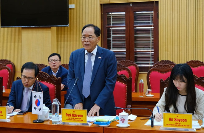 Thái Nguyên ký kết thúc đẩy hợp tác kinh tế với Hàn Quốc - Ảnh 3.