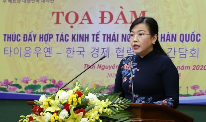 Thái Nguyên ký kết thúc đẩy hợp tác kinh tế với Hàn Quốc - Ảnh 2.