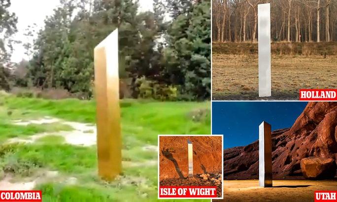 """""""Trùm"""" của các khối kim loại bí ẩn xuất hiện ở Colombia - Ảnh 2."""