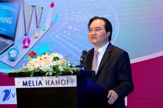 Bộ trưởng Phùng Xuân Nhạ: Việt Nam sẽ trở thành quốc gia hàng đầu về chuyển đổi số trong GD-ĐT - Ảnh 1.